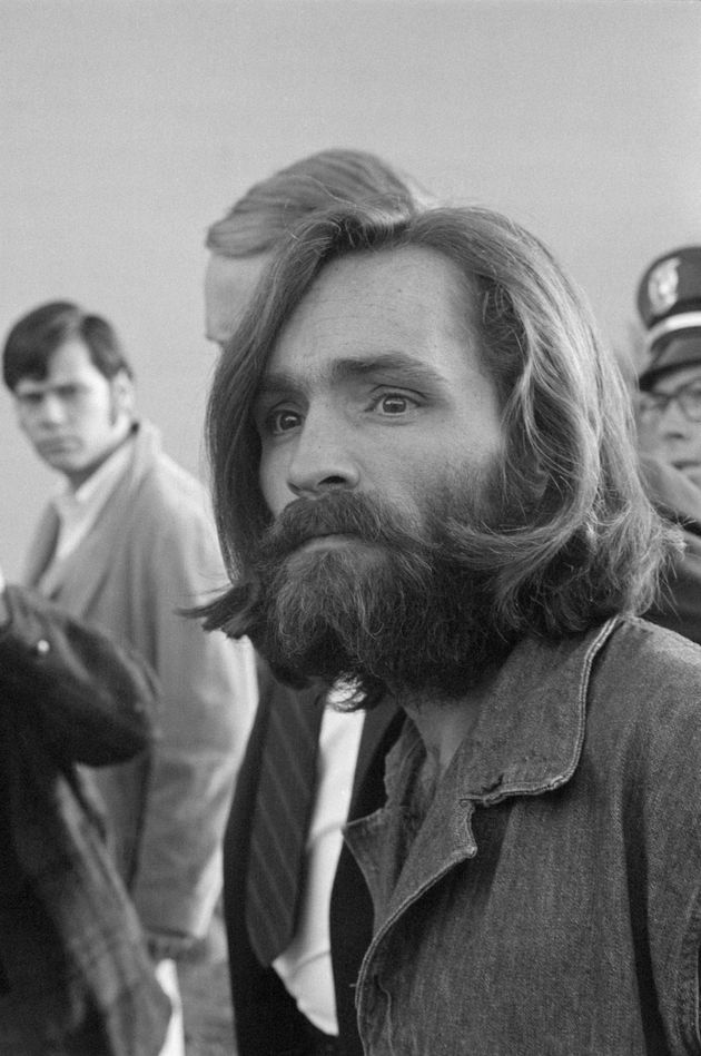 Charles Manson after his