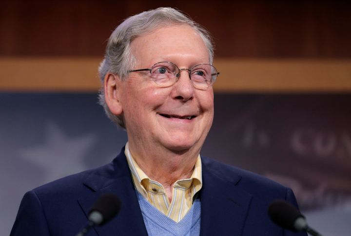 Senate Majority Leader Mitch McConnell makes his move. Checkmate, Mr. President.