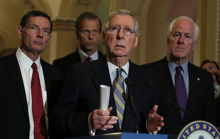 Senate Majority Leader Mitch McConnellhas no plansto hold a vote for Supreme Court nomineeMerrick Garland.