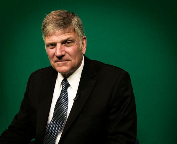Rev. Franklin Graham, president of Christian relief organization Samaritan's Purse as well as the Billy Graham Evangelis