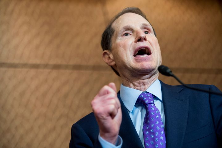 A group of Democratic senators, led by Sen. Ron Wyden (D-Ore.), wants President-elect Donald Trump to release his tax returns