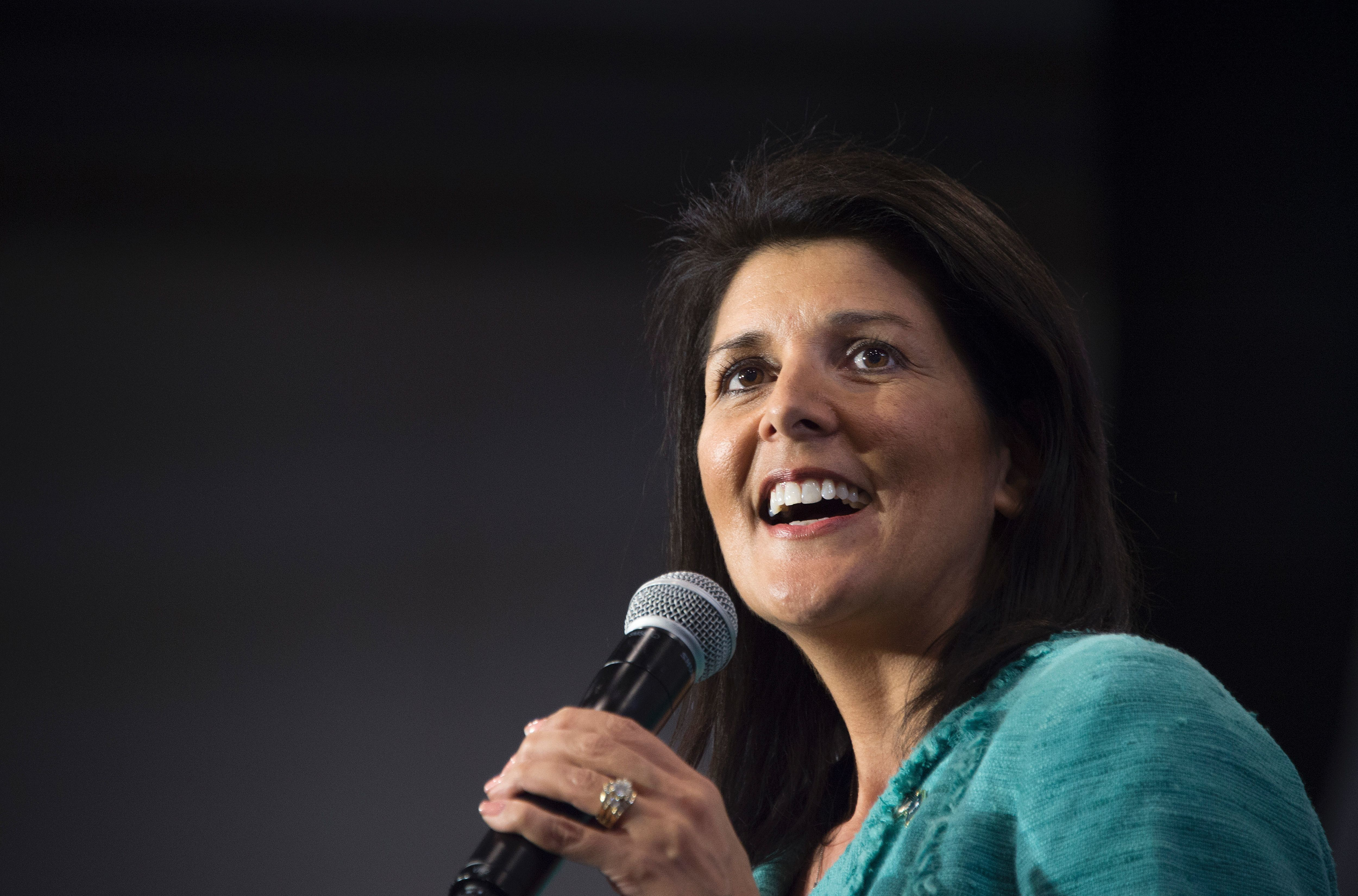 South Carolina Gov.Nikki Haley's (R) support could significantly benefit the Bush campaign.