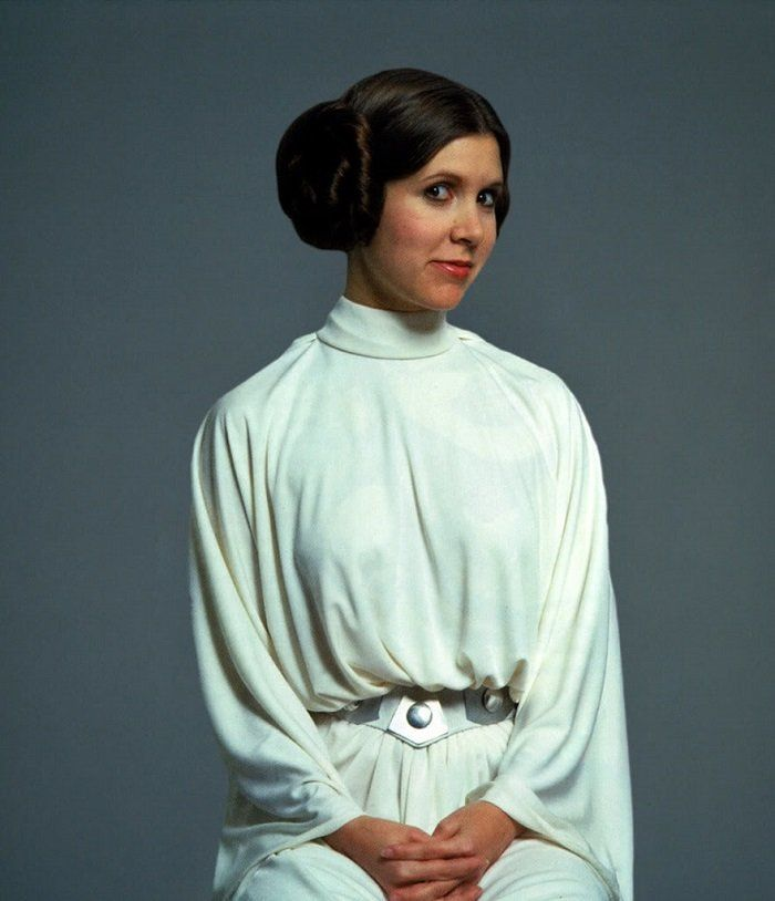 Carrie Fisher as Princess Leia in 'Star