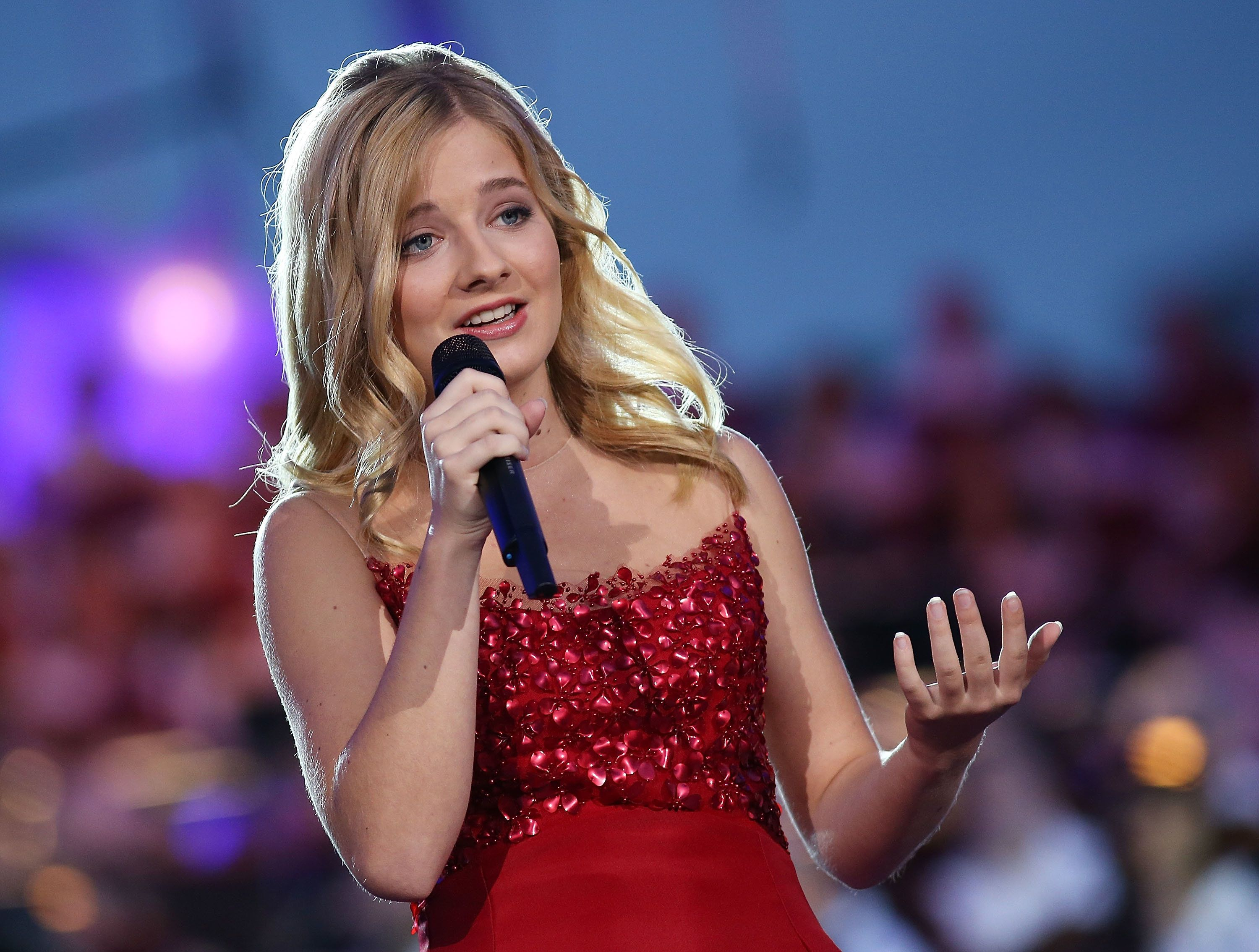 Jackie Evancho's  five previous studio albums never returned to the Billboard 200 after the inauguration announcement.