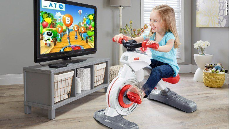 Fisher Price Is Releasing An Exercise Bike For Children And People Aren't