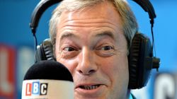 Farage Branded A 'Nazi Alan Partridge' After Being Given His Own Radio