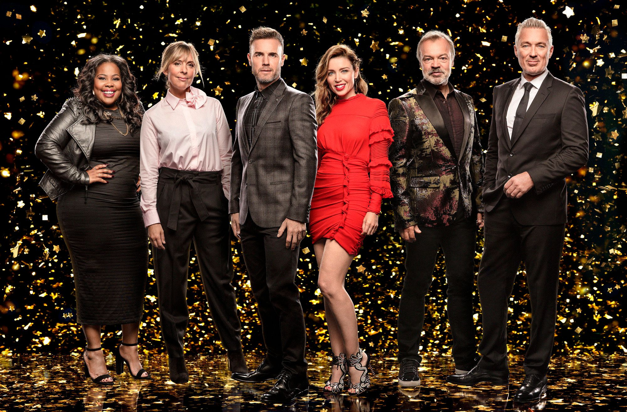 'Let It Shine' has recruited Amber Riley, Mel Giedroyc, Gary Barlow, Danni Minogue, Graham Norton and...