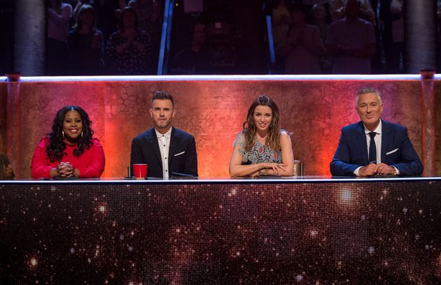Judges Amer, Gary, Danni and Martin have a total of five points each to give to each