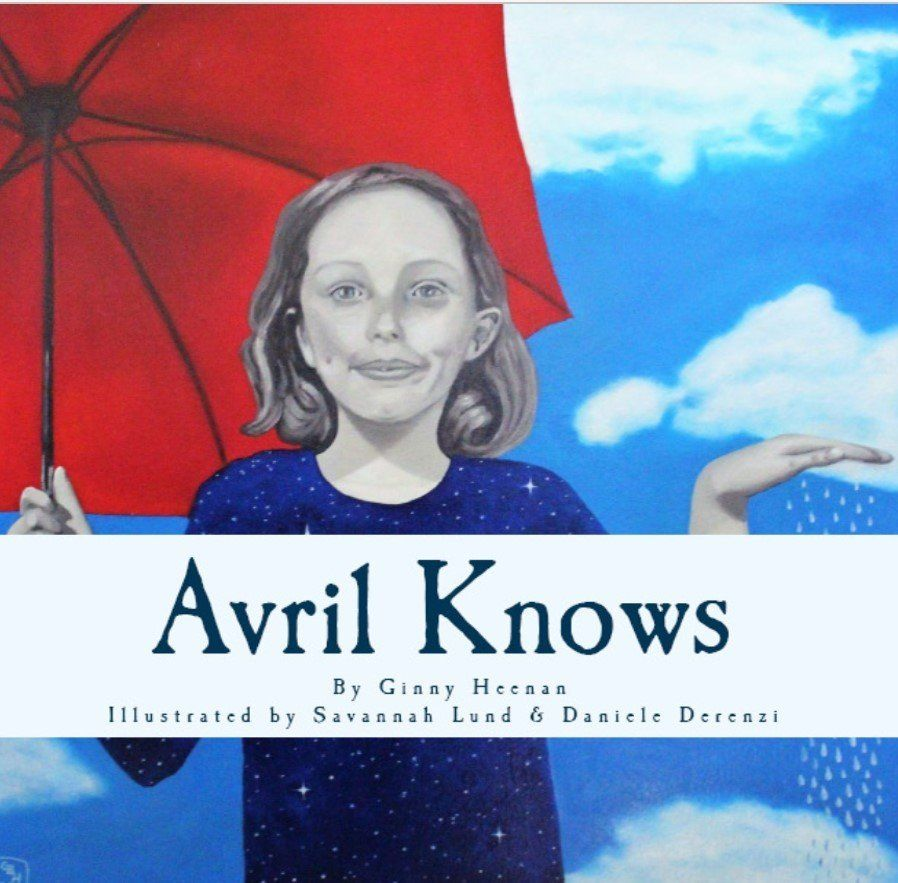 In<i>Avril Knows</i>, an artist named Jophiel paints a portrait filled with symbolism for Avril, a girl with a nut allergy, to show her how strong she is.