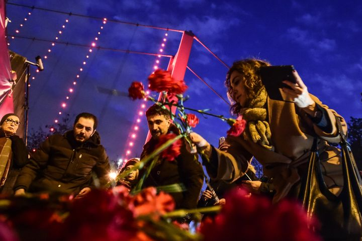 After a violent year, Turks had hoped for normalcy. Instead, anightclub attack rang in 2017.