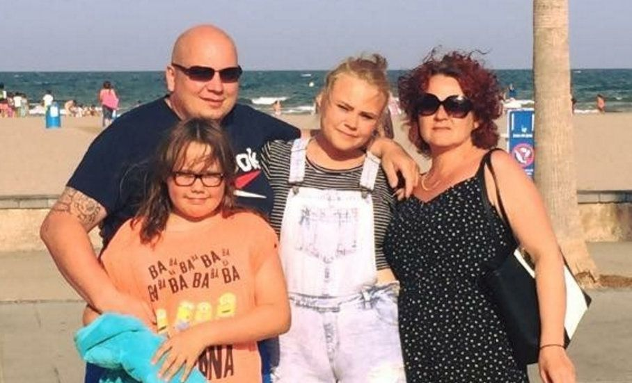 Milena lost her mother and sister in a house fire just days before