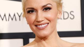 Musician Gwen Stefani arrives at the 57th annual Grammy Awards in Los Angeles, California February 8, 2015.  REUTERS/Mario Anzuoni  (UNITED STATES - TAGS: ENTERTAINMENT) (GRAMMYS-ARRIVALS)
