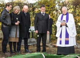 Spoiler! 'EastEnders' Reveal First Snaps Of The Mitchell Sisters' Funeral