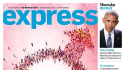 Washington Post Express Liftout Publishes Epic Front Page