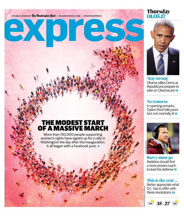 Washington Post Express makes huge error on women's rights cover story