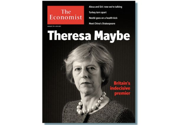 Theresa May Branded 'Theresa Maybe' In The Economist's Withering Verdict On 'Britain's Indecisive