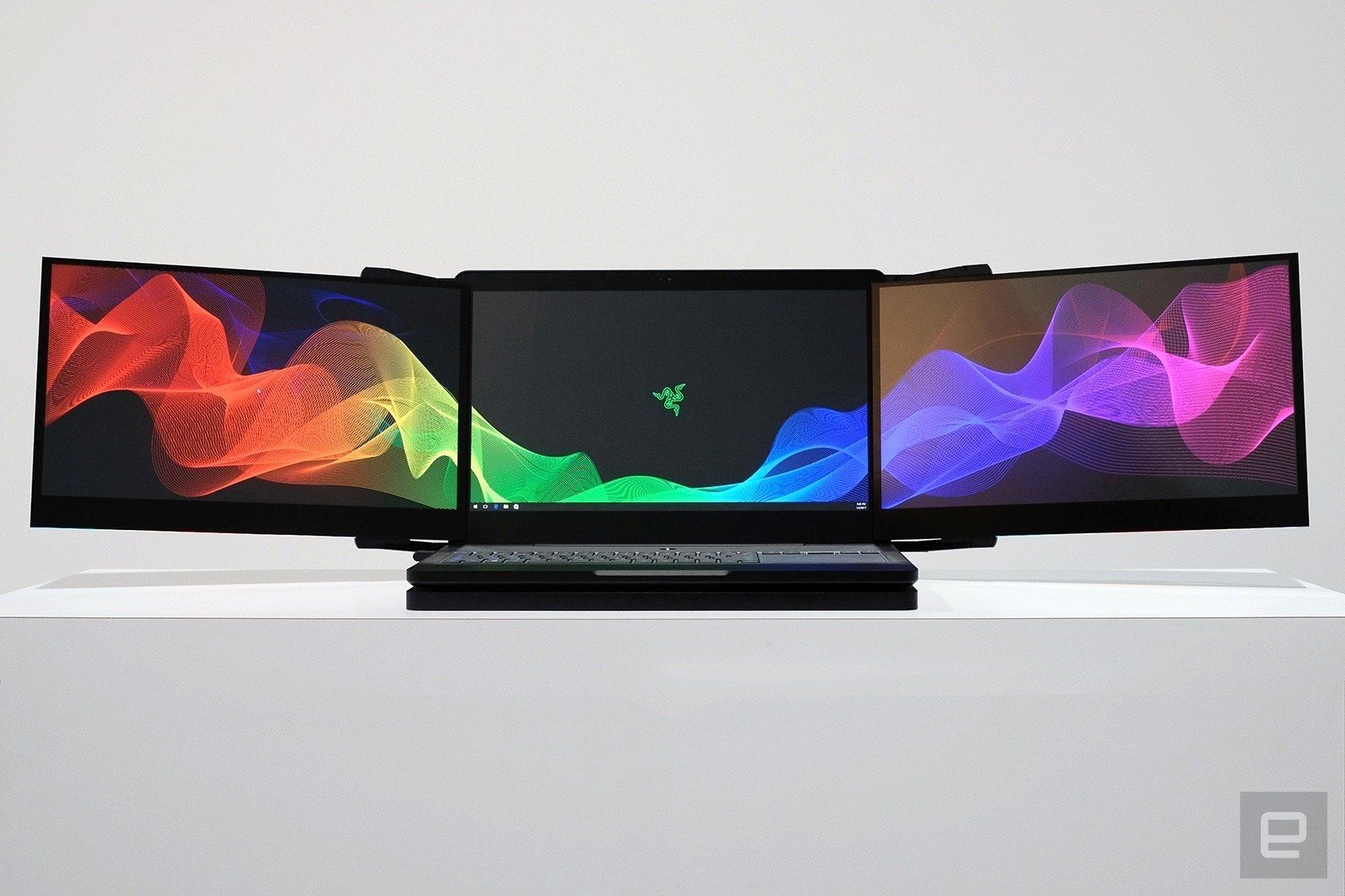 Razer Has Built A Laptop With Three 4K Displays And It's Gloriously