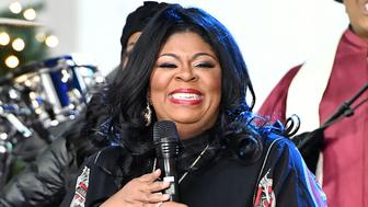 NEW YORK, NY - DECEMBER 09:  Gospel singer Kim Burrell performs on NBC's 'Today' at Rockefeller Center on December 9, 2016 in New York City.  (Photo by Slaven Vlasic/Getty Images)