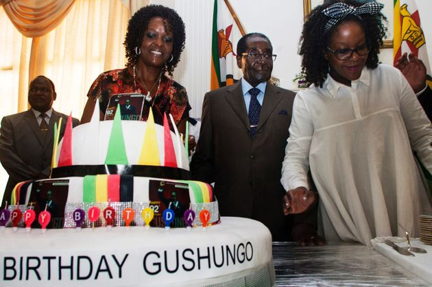 Mugabe Holds Lavish 92nd Birthday Party In Drought-Stricken