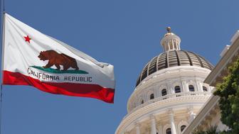 Sacramento California outside the capital building