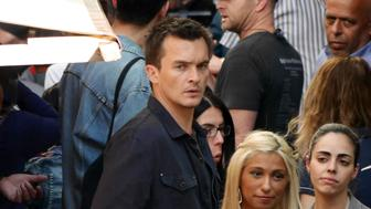 BERLIN, GERMANY - JUNE 04:  Rupert Friend sighted on the set of 'Homeland' while filming in the Kreuzberg district of Berlin on June 4, 2015 in Berlin, Germany.  (Photo by Chad Buchanan/GC Images)