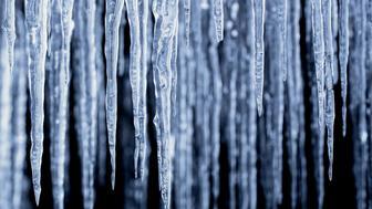 Sweden, Lapland, Arctic Icicles