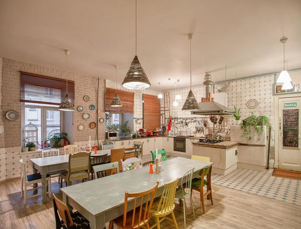 "This Pinterest-worthy spot is nestled inan elegant<a href=""http://www.soulkitchenhostel.com/hostel/a_bit_of_histo"
