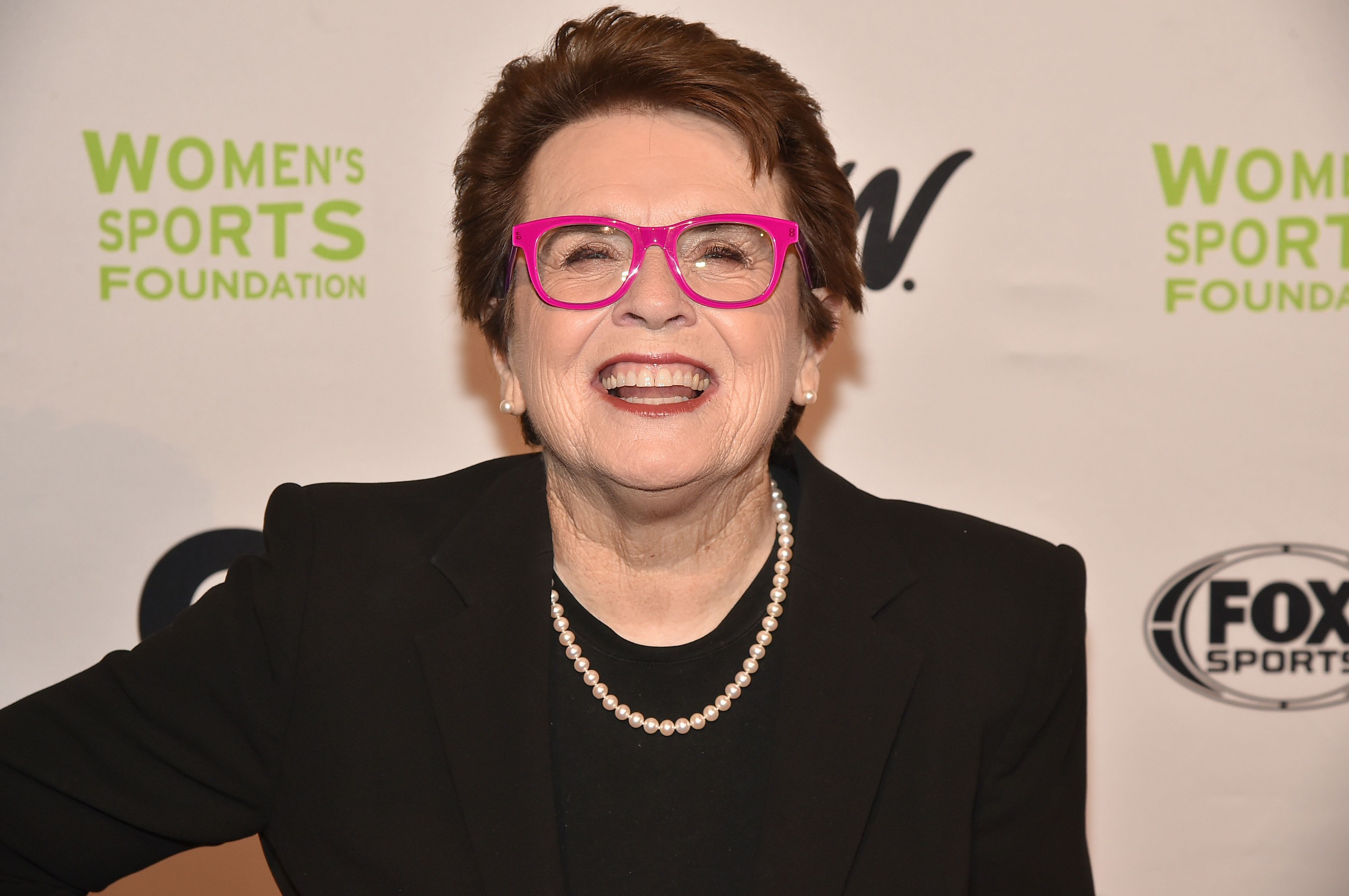 NEW YORK, NY - OCTOBER 19:  Tennis player Billie Jean King attends the 37th Annual Salute To Women In Sports Gala at Cipriani Wall Street on October 19, 2016 in New York City.  (Photo by Theo Wargo/Getty Images for Women's Sports Foundation )