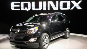 CHICAGO, IL - FEBRUARY 12:  Chevrolet introduces the 2016 Equinox at the Chicago Auto Show on February 12, 2015 in Chicago, Illinois. The auto show, which has the highest attendance in the nation, will open to the public February 14-22.  (Photo by Scott Olson/Getty Images)