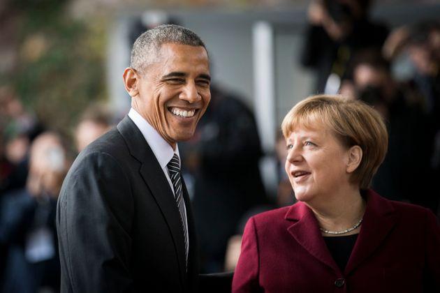 Obama first spoke in Berlin during his presidential run in
