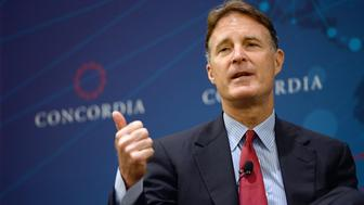 NEW YORK, NY - SEPTEMBER 29:  Former United States Senator, Evan Bayh, speaks onstage at the 2014 Concordia Summit - Day 1 at Grand Hyatt New York on September 29, 2014 in New York City.  (Photo by Leigh Vogel/Getty Images for Concordia Summit)