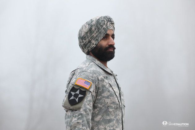 Captain Simratpal Singh was granted a permanent accommodation to wear his turban and beard in April 2016.