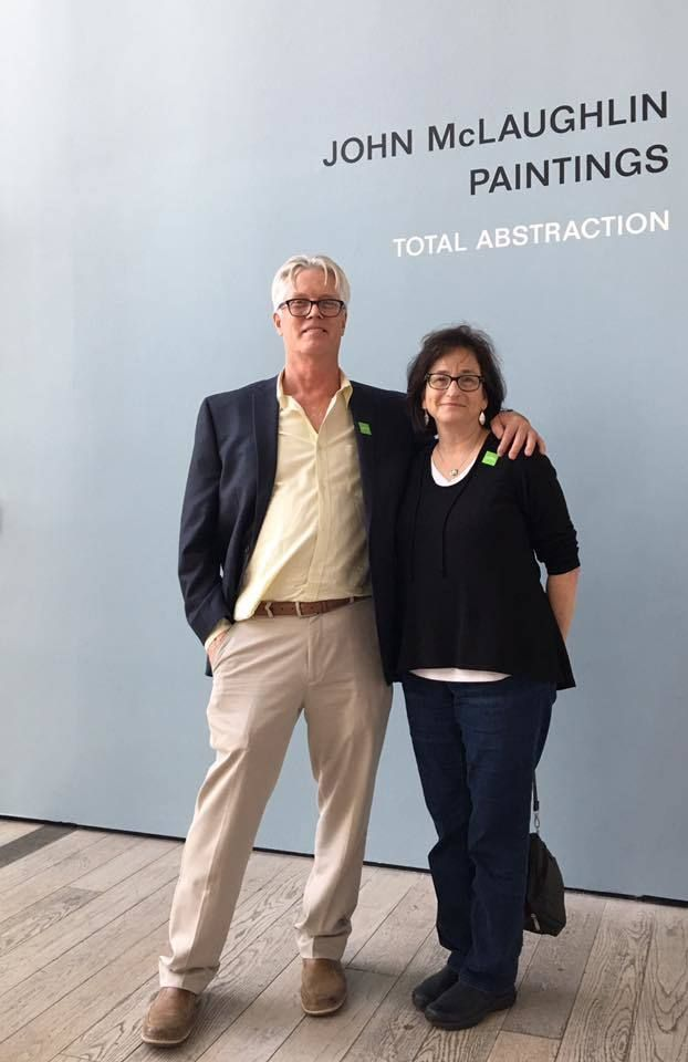 With Lisa Pressman at LACMA