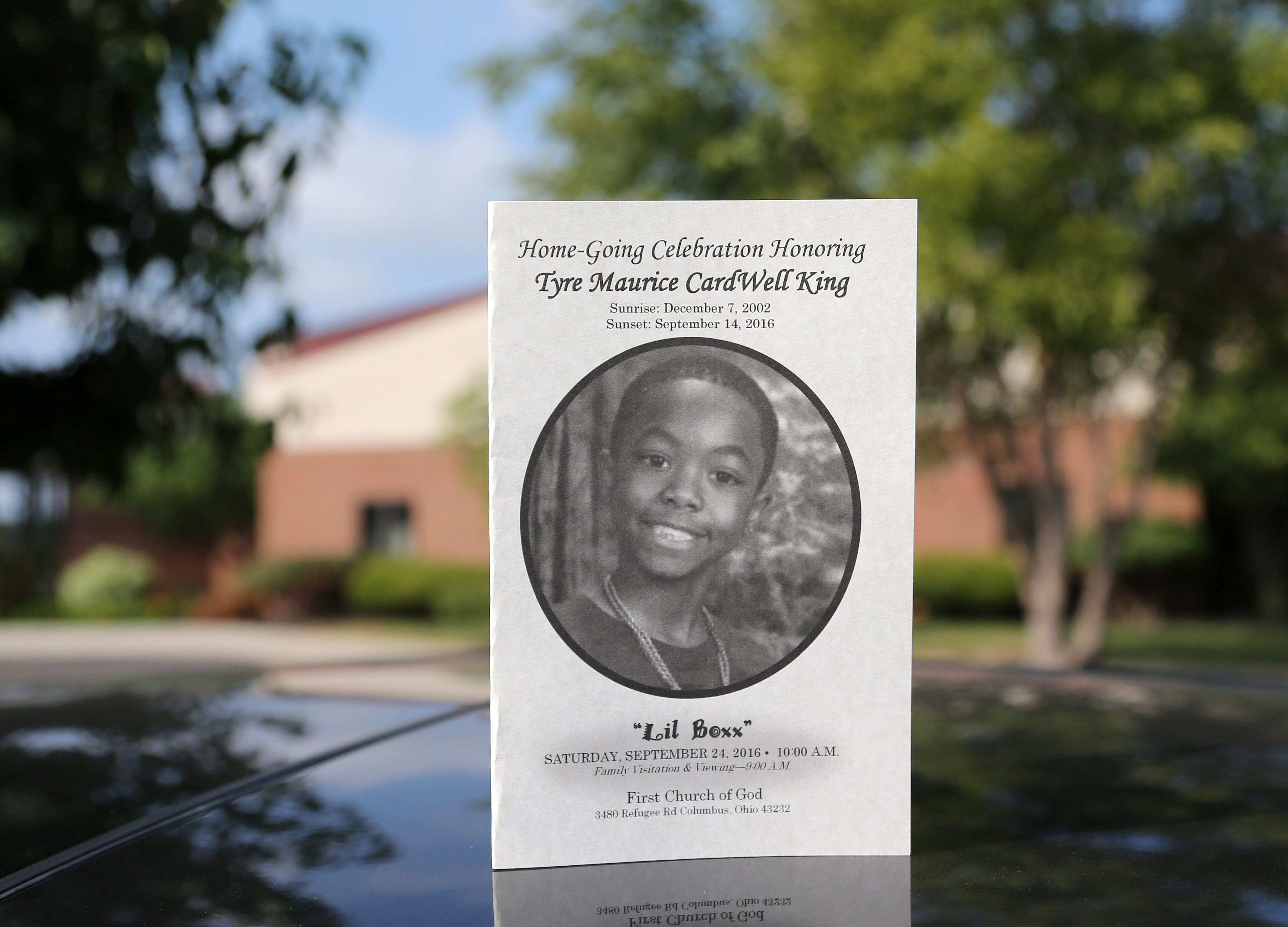Tyre King, 13, was shot three times while running away from a white Columbus, Ohio police officer last week, according to a n