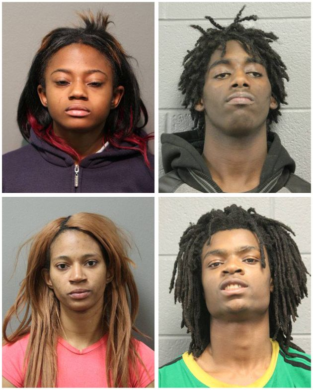 Four Charged in Facebook Live Assault of Disabled Man