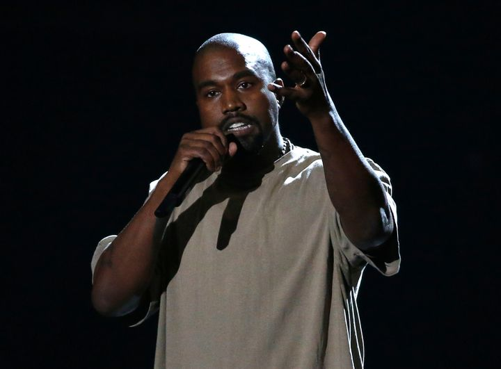 Kanye West stormed offstage in Sacramento, California, on Saturday night after delivering a wide-ranging rant and only p