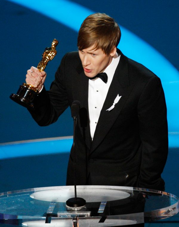 "Black won the Oscar for <a href=""https://www.youtube.com/watch?v=vfPXcCroPJc"" target=""_blank"">Best Original Screenplay</a> fo"