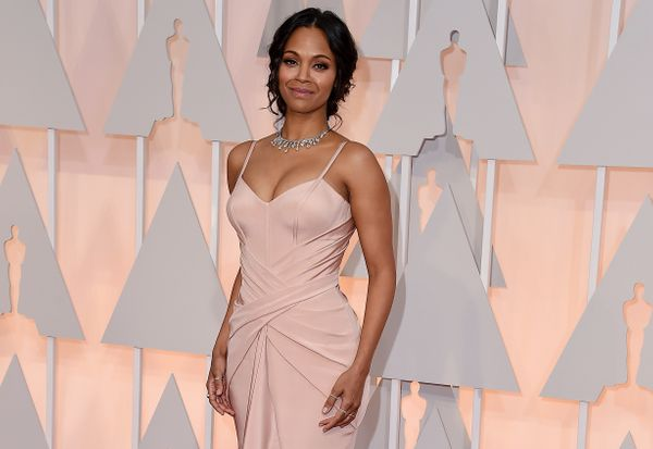 """While struggling with pumpingpain in 2015, <a href=""""http://www.huffingtonpost.com/2015/01/13/zoe-saldana-breastfeeding_"""