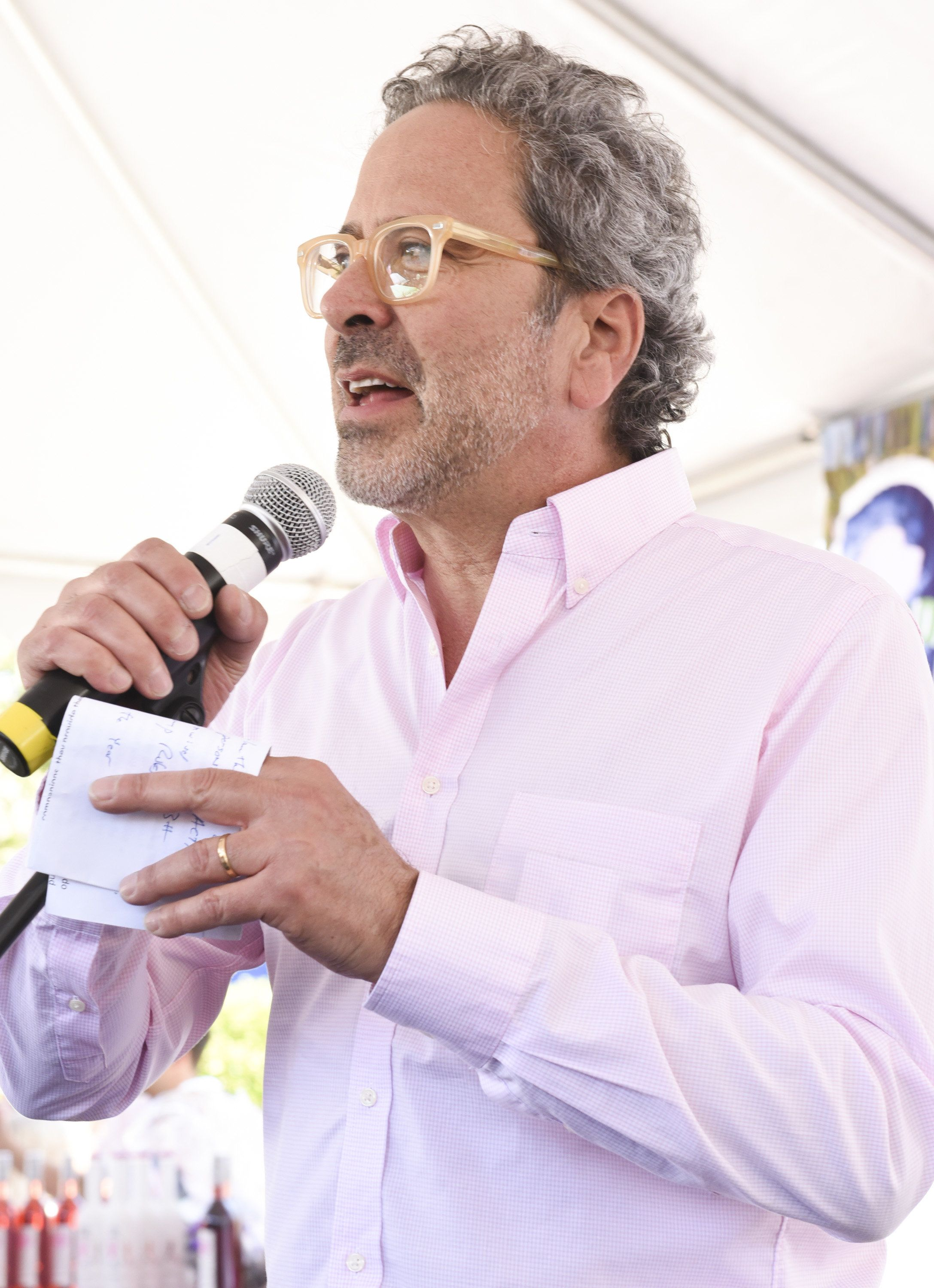 WEST HOLLYWOOD, CA - MAY 22:  Assemblymember Richard Bloom speaks at World Dog Day on May 22, 2016 in West Hollywood, California.  (Photo by Rodin Eckenroth/WireImage)