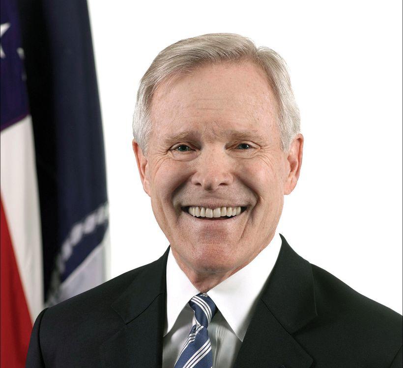 Secretary of the U.S. Navy Ray Mabus.