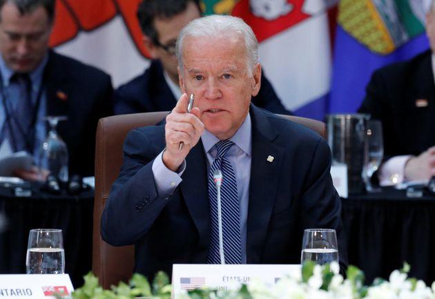 Vice President Joe Biden told President Elect Trump: