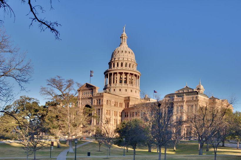 Texas State Capitol Builiding, Austin, Texas.