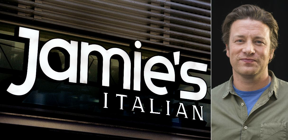 Jamie Oliver To Close Six Italian Restaurants - And Brexit Is Being Blamed