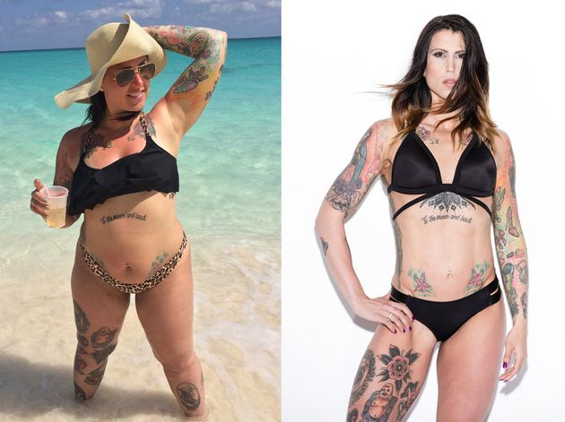 Woman Who Weighed 19 Stone Sheds Almost Half Her Body
