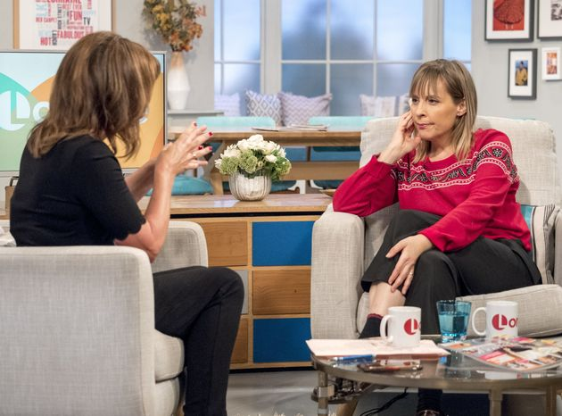 Mel appeared on 'Lorraine' to talk about 'Let It