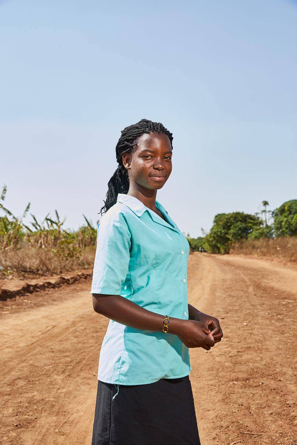 "Tamanda: ""In the future, once I have completed my schooling, I would like to go to nursing college. So that I can help"