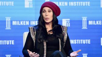 BEVERLY HILLS, CA - MAY 03:  Singer Cher speaks onstage during 2016 Milken Institute Global Conference at The Beverly Hilton on May 03, 2016 in Beverly Hills, California.  (Photo by Alberto E. Rodriguez/Getty Images)