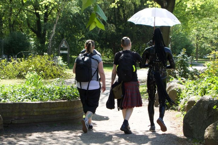<p>Just another normal day in East Berlin, Germany.</p>