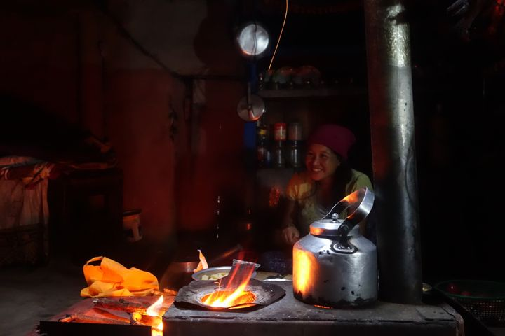 <p>A home cooked meal in Odar, Nepal. </p>