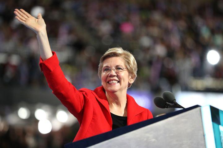 Sen. Elizabeth Warren announced she will seek a second term in 2018.